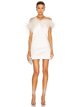 Feathers Mini Dress
