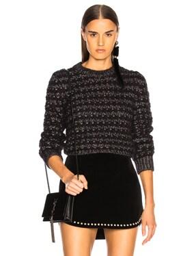Lurex Striped Sweater