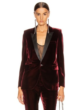 Tailored Blazer Jacket