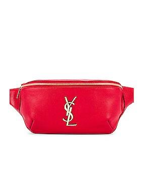 Classic Leather Monogramme Belt Bag