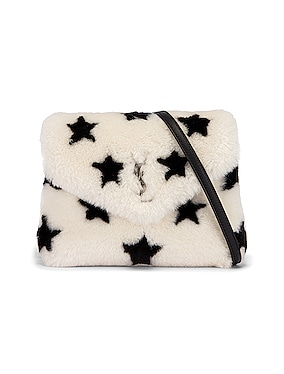Toy Loulou Star Shearling Pouch Bag