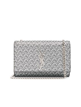 Small Chevron Monogramme Kate Chain Bag