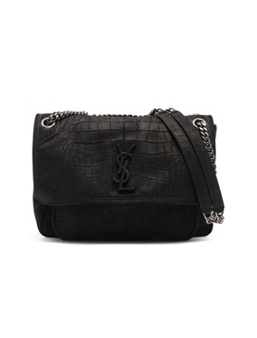 Monogramme Niki Croco Print Shoulder Bag