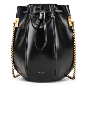 Small Talitha Chain Bucket Bag