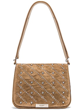 Amalia Stud Satchel Bag