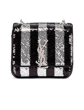 Vicky Monogramme Stripe Bag