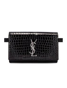 Croc Belt Bag