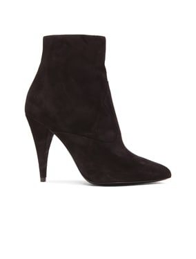 Suede Fetish Boots