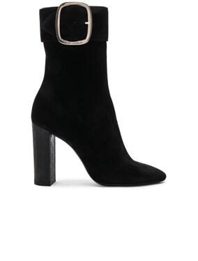 Suede Joplin Buckle Boots