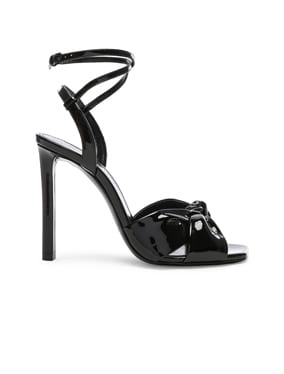 Patent Amy Ankle Strap Sandals