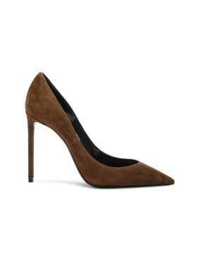 Suede Zoe Pumps