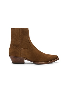 Suede Lukas Western Boots