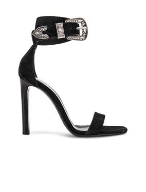 Mica Buckle Heels