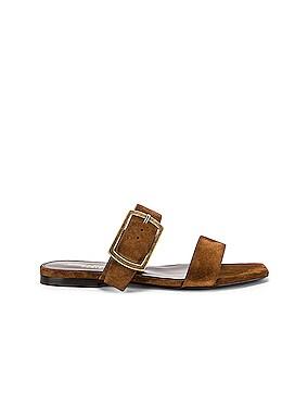 Suede Oak Sandals