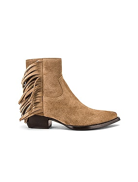 Lukas Fringe Boots
