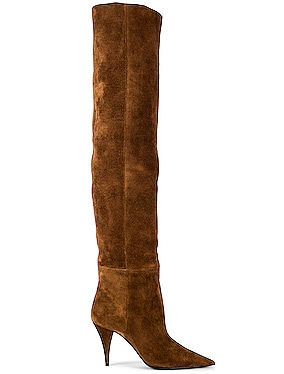 Kiki Suede Over the Knee Boots