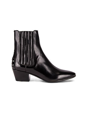 West Leather Chelsea Boots
