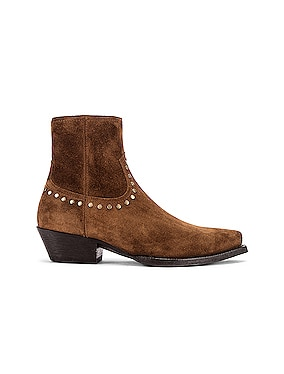 Lukas Zip Stud Ankle Booties
