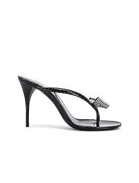 Lexi Swarovski Bow Sandals