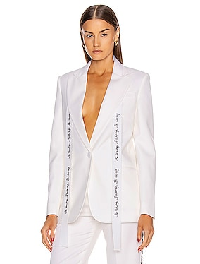 Tailored Jacket with Sash