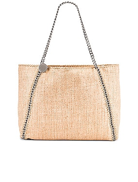 Medium Reversible Rafia Falabella Tote