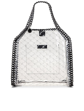 Mini Clear Falabella Monogram Tote