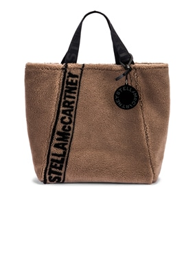 Medium Faux Shearling Tote