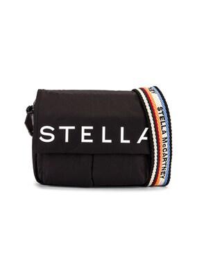 Medium Padded Nylon Shoulder Bag