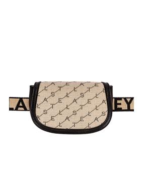 Flap Canvas Belt Bag