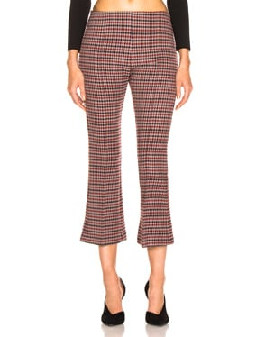 Pull On Cropped Kick Pant