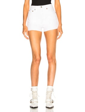 x RE/DONE Hollywood High Waisted Short