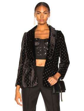 Velvet Diamante Jacket
