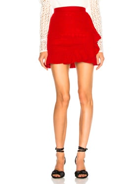 Lace Fill Mini Skirt