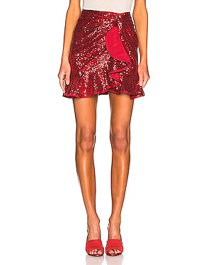 for FWRD Sequin Ruffle Skirt