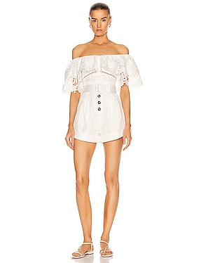 Lily Guipure Playsuit