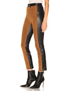High Waisted Corduroy Pants