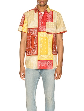 Short Sleeve Baytrail Pattern Shirt