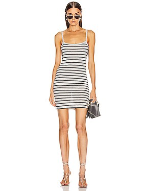 Stripped Slub Tank Dess