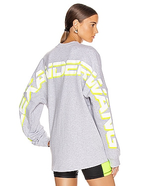 Long Sleeve Logo Sweater