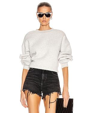 Dense Fleece Bubble Crew Sweatshirt