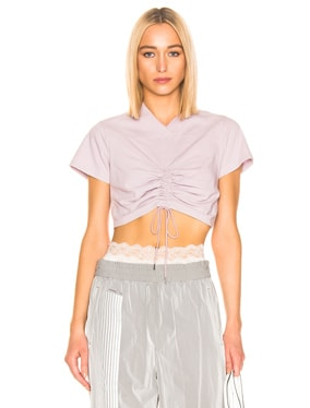 High Twist Ruched Tee