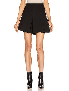 Anson Stretch Pleated Skort