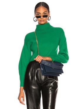 Merino Rib Structured Pullover