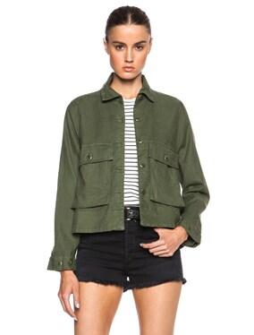 Swingy Army Jacket