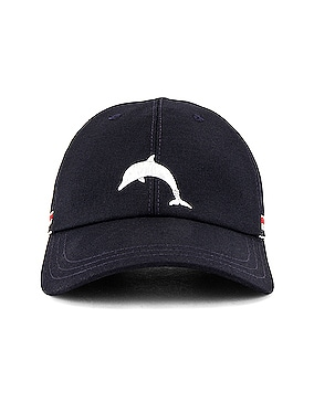 Classic 6 Panel Dolphin Baseball Cap