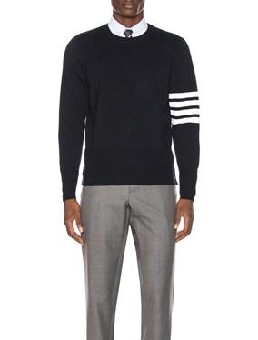 Merino Wool Crewneck Pullover