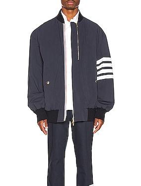 Oversized Double Zip Jacket
