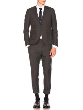 Plain Weave Suit