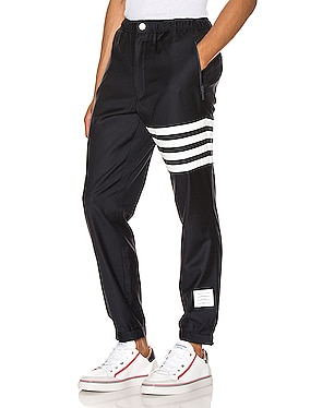 Snap Front Elastic Track Trouser