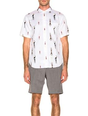 Swimmer Print Shirt